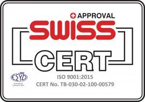 Πιστοποιητικό συμμόρφωσης ISO 9001:2015